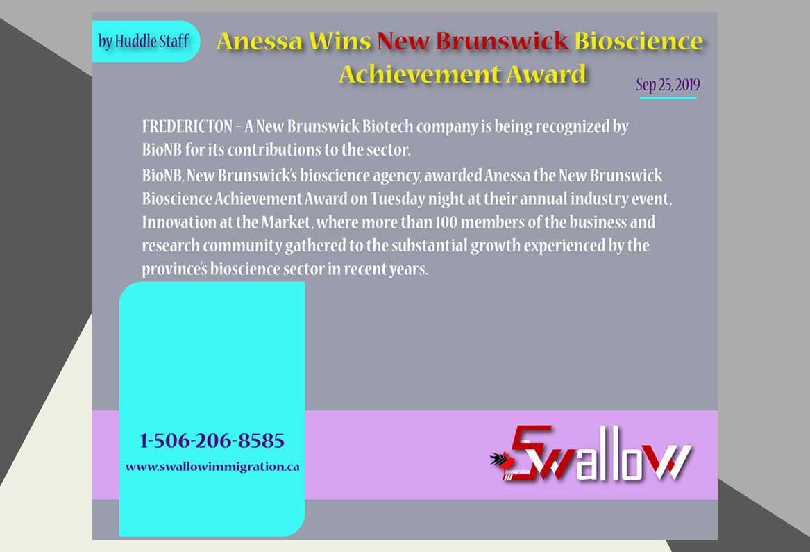 New Brunswick Bioscience Achievement