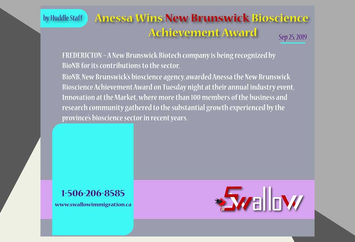 New Brunswick Bioscience Achievement