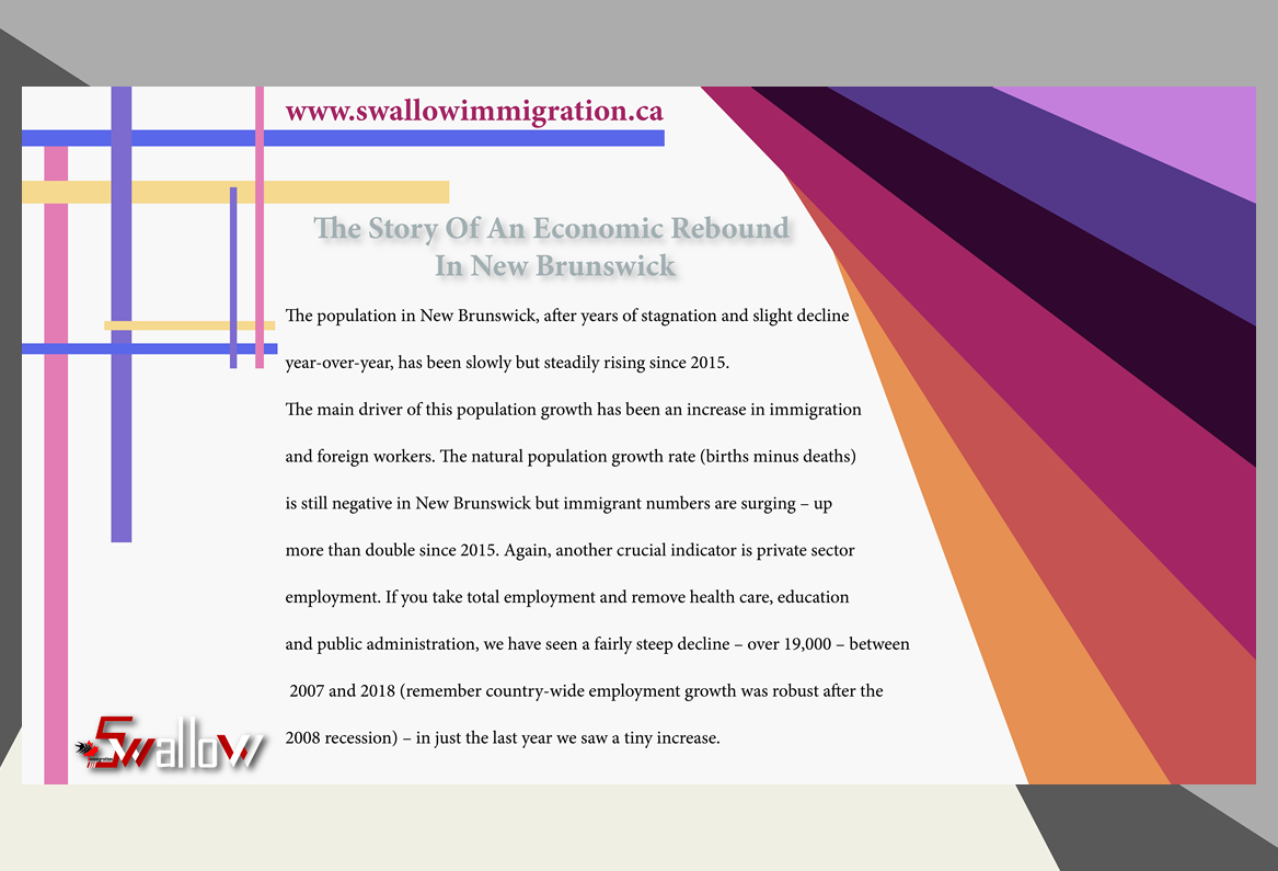 Economic Rebound In New Brunswick