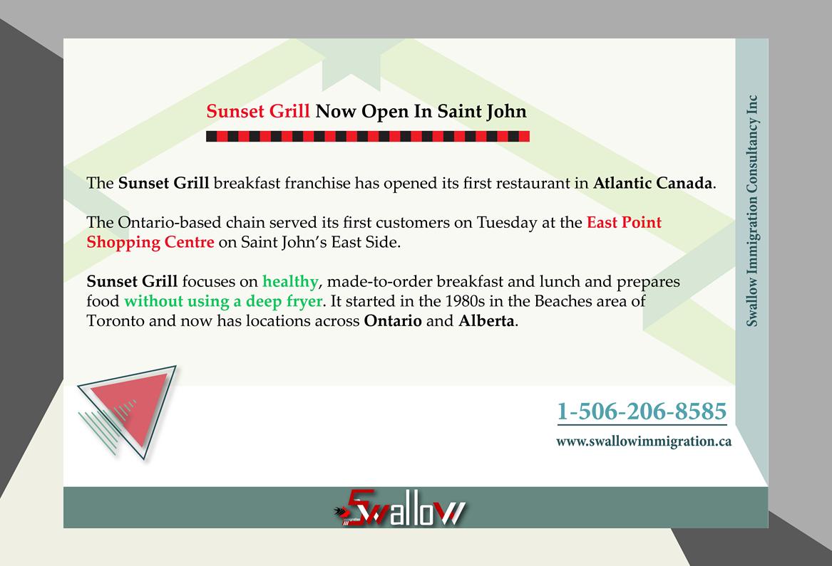 Sunset Grill In New Brunswick