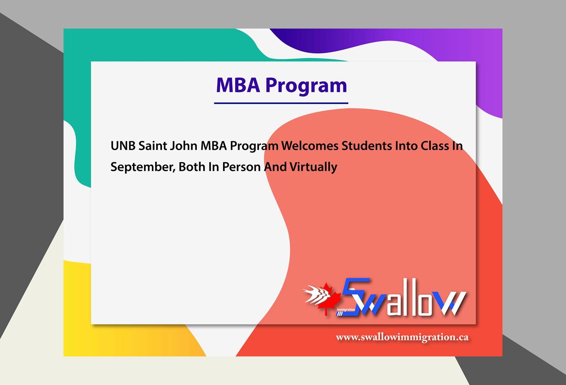 MBA Program New Brunswick