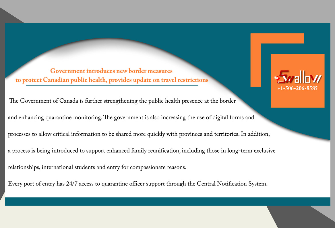 Protect Canadian public health