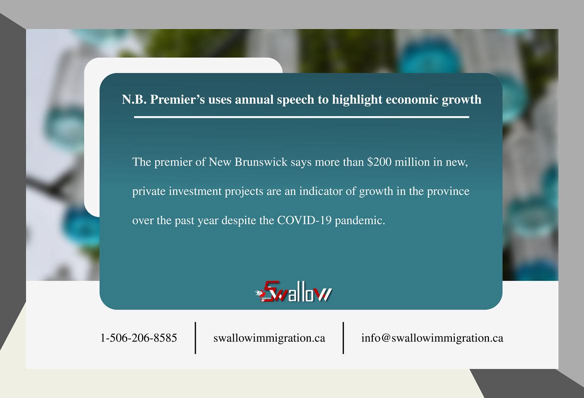 N.B. economic growth