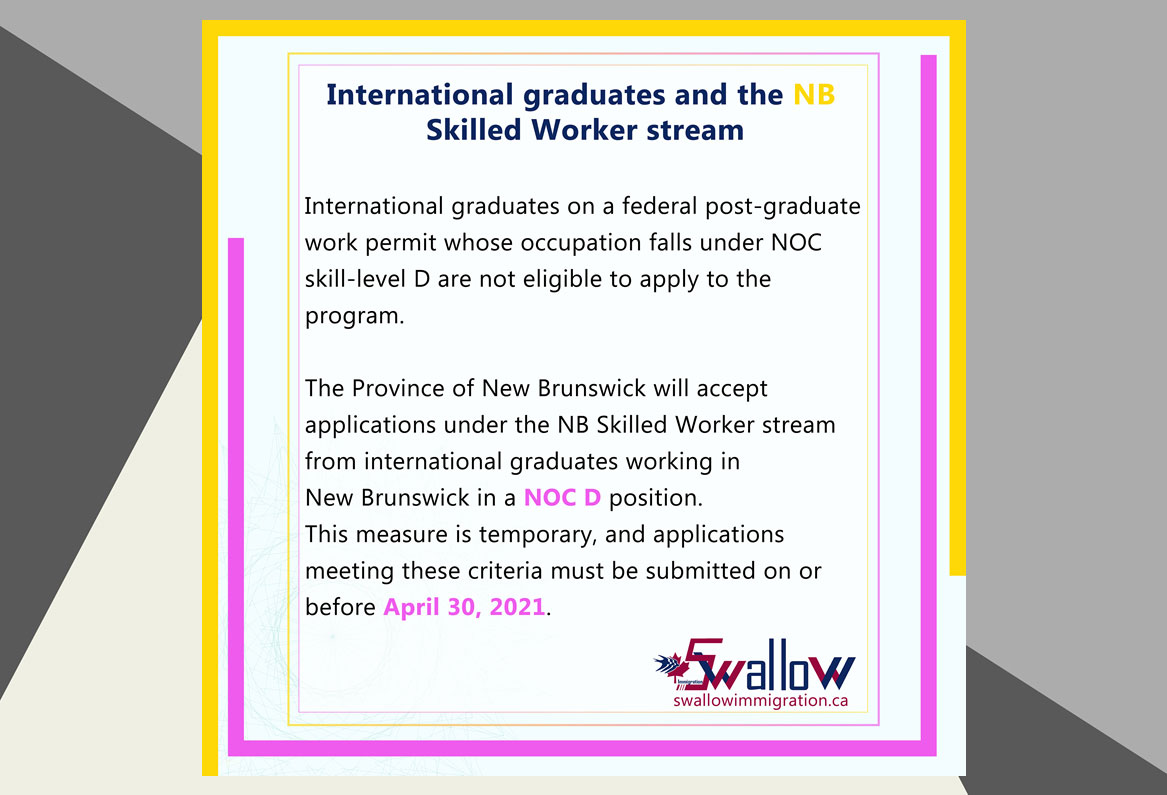 New Brunswick Worker stream