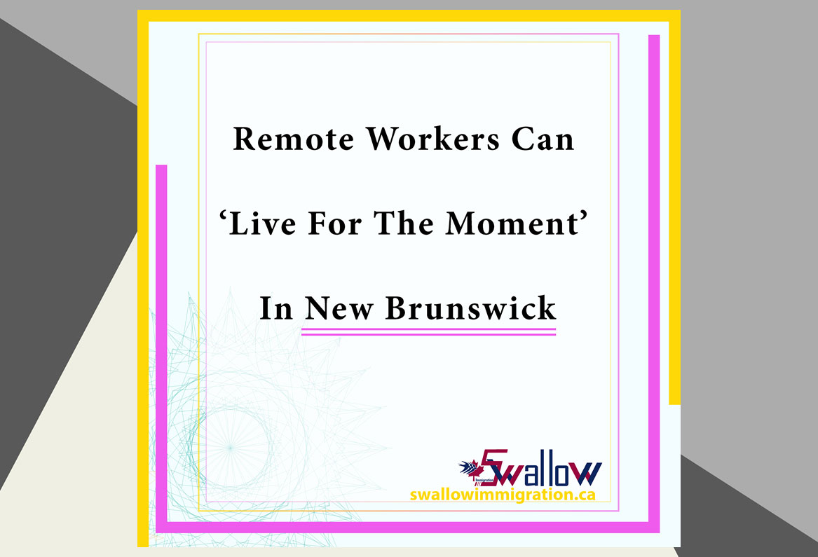 Remote Workers In New Brunswick
