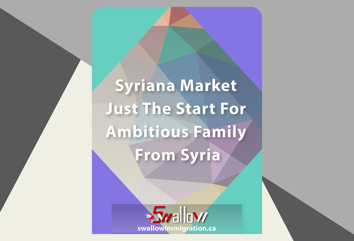 Syriana Market Just The Start For Ambitious Family From Syria