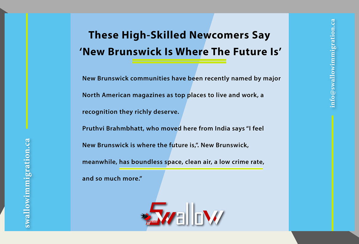 These High-Skilled Newcomers Say 'New Brunswick Is Where The Future Is'