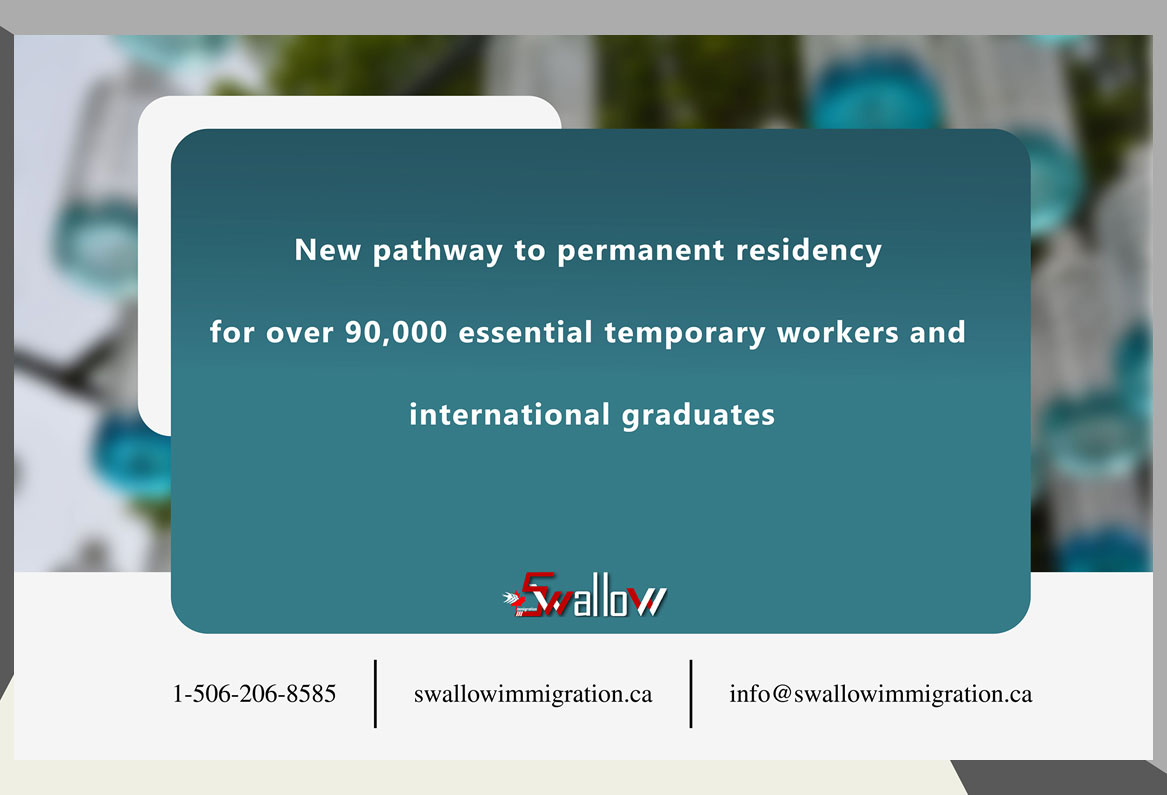 New pathway to permanent residency for over 90,000 essential temporary workers and international graduates