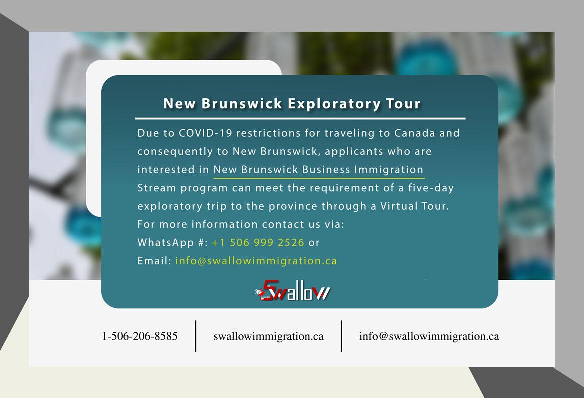 New Brunswick Exploratory Tour