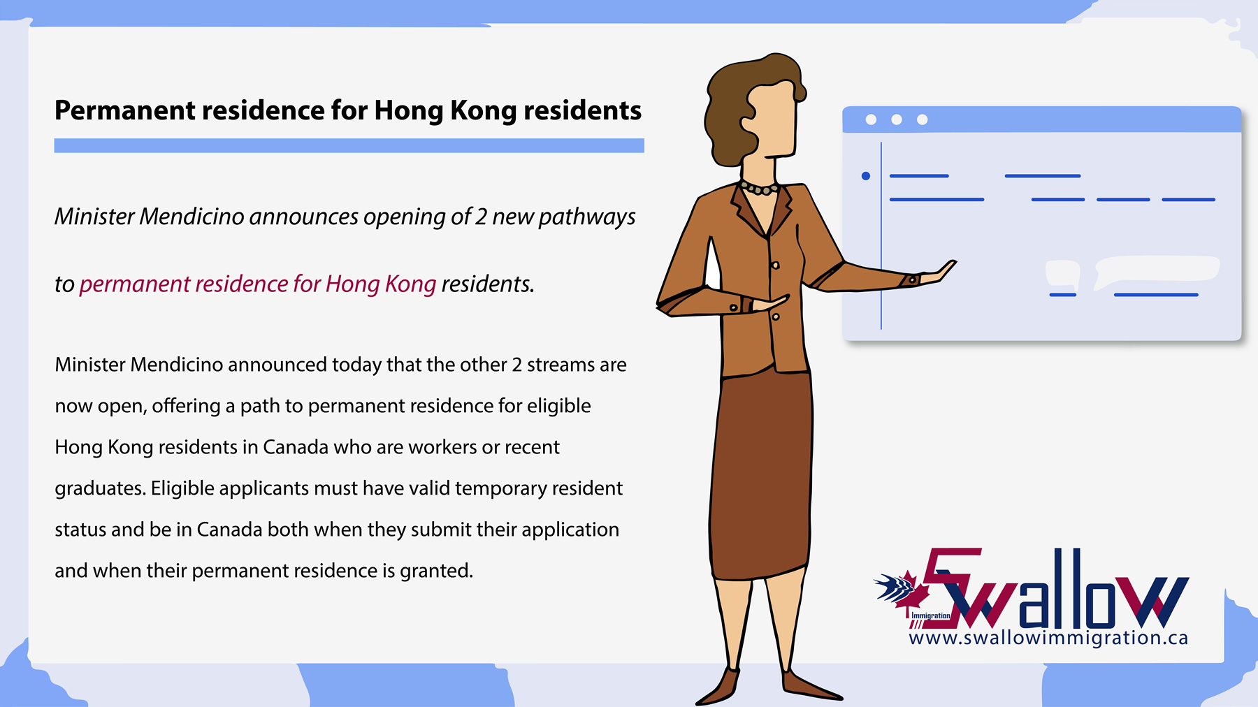 permanent residence for Hong Kong residents