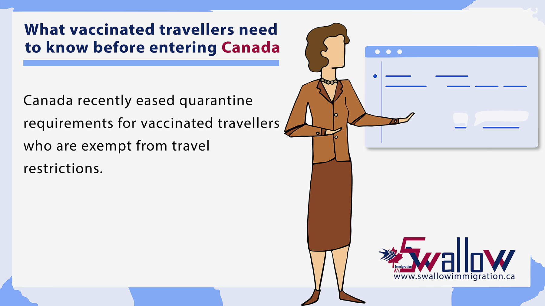 What vaccinated travellers need to know before entering Canada